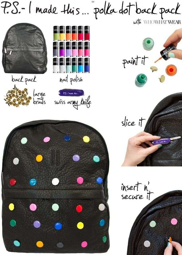 Как можно украсить рюкзак посоветуйте рюкзак первокласснику