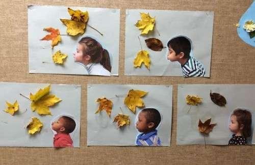 Поделка на тему осень с ребенком 46