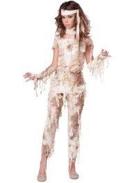 легкий костюм на хэллоуин своими руками