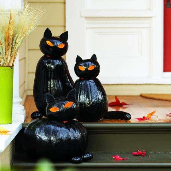 поделки из тыквы на хэллоуин