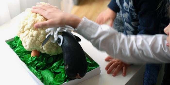 Как сделать выставку из овощей