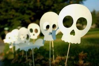как сделать украшения на хэллоуин своими руками