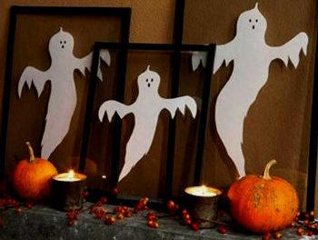 декор на хэллоуин своими руками украшение комнаты