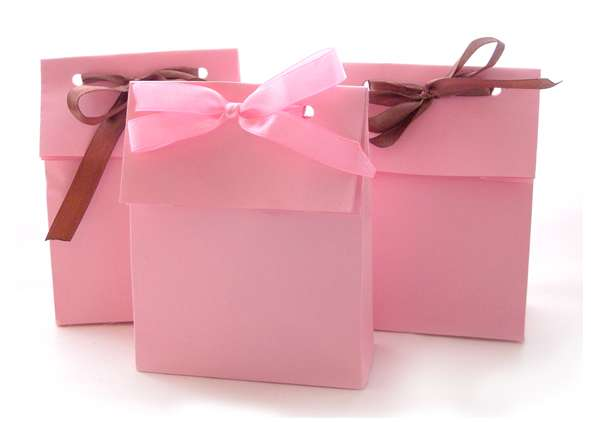 Торт из бумаги - упаковка для подарков Праздник