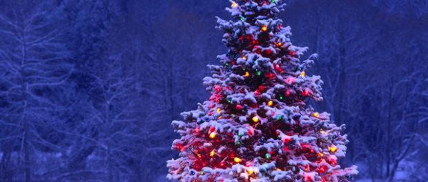 Новогодняя поделка на уличную елку