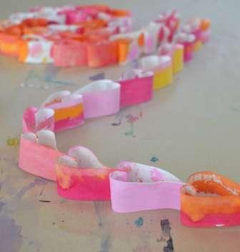 поделки из бумаги ко дню святого валентина