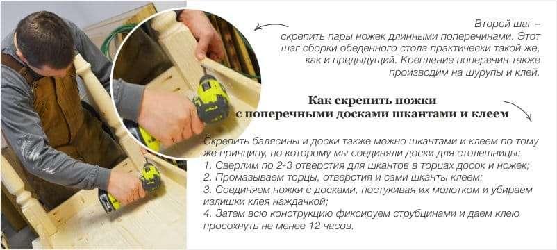 как самому сделать кухонный стол своими руками