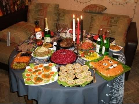 Что должно быть на столе в год Петуха, Новый год - 2019