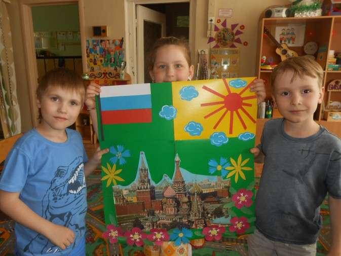 поделки ко дню независимости россии