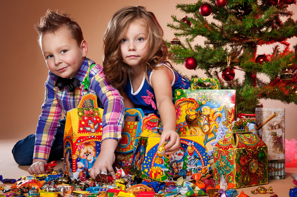 что можно подарить детям на новый год в картинках самаранефтегаз