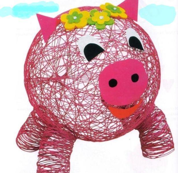 """sviniy Поделка """"Воздушная свинья"""" из шарика"""