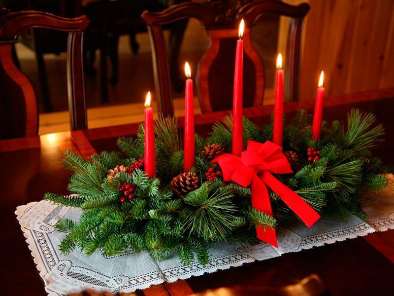 украшение дома к рождеству своими руками