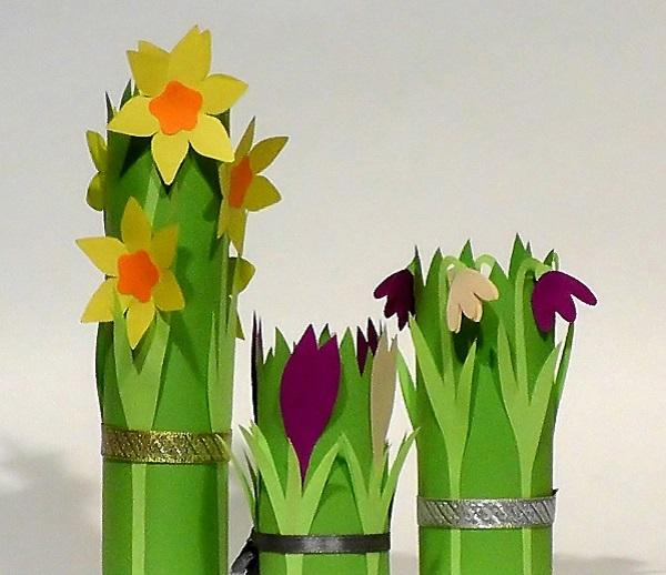 Защита букет на 8 марта своими руками из бумаги, цветы
