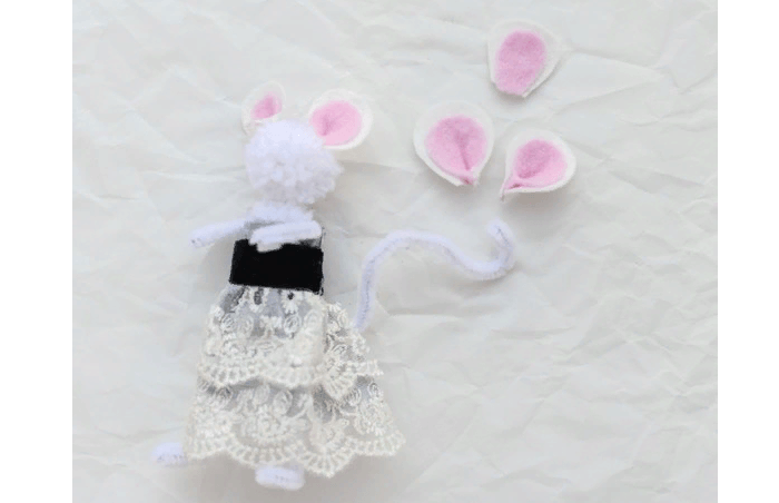 новогодняя поделка крыса