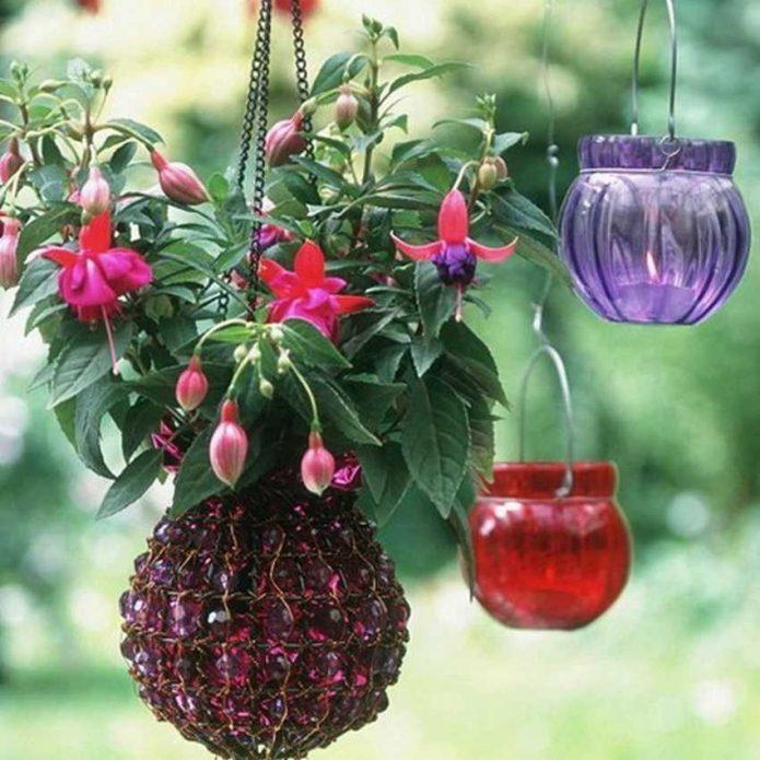 как подвесить кашпо для цветов