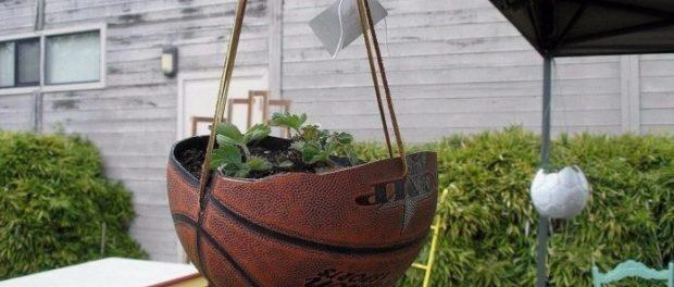 сделать кашпо для сада своими руками