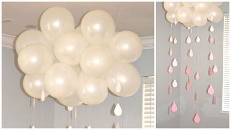 украшение дома шарами своими руками