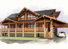 Особенности строительство деревянных домов