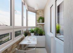 Как правильно провести остекление и утепление балкона