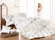 Преимущества современных пуховых одеял