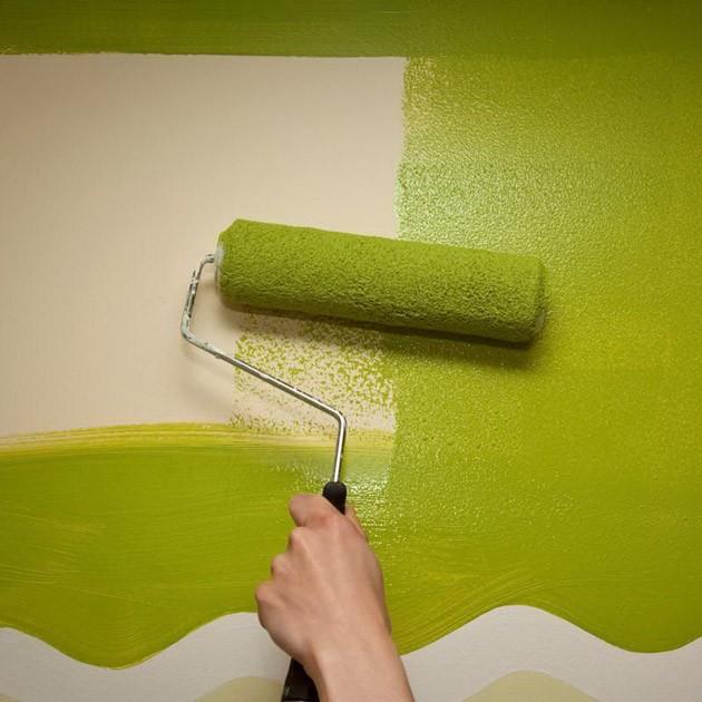 Водорастворимые лакокрасочные материалы – стильная отделка стен