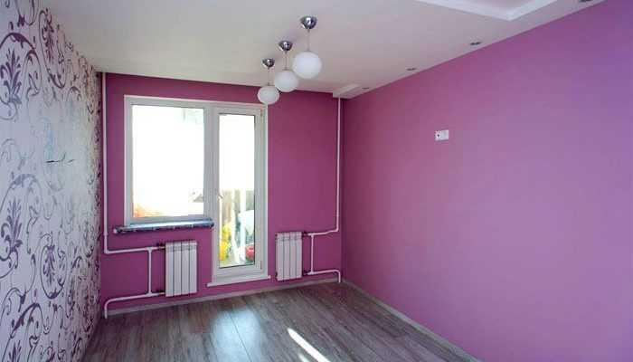 Как правильно покрасить стены в квартире